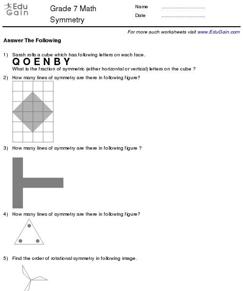 Year 7 Maths Worksheets Grade 7 Math Worksheets And